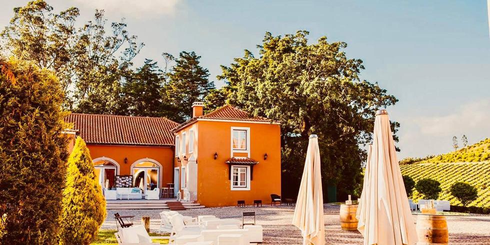 Vineyard venue with adega in Portugal