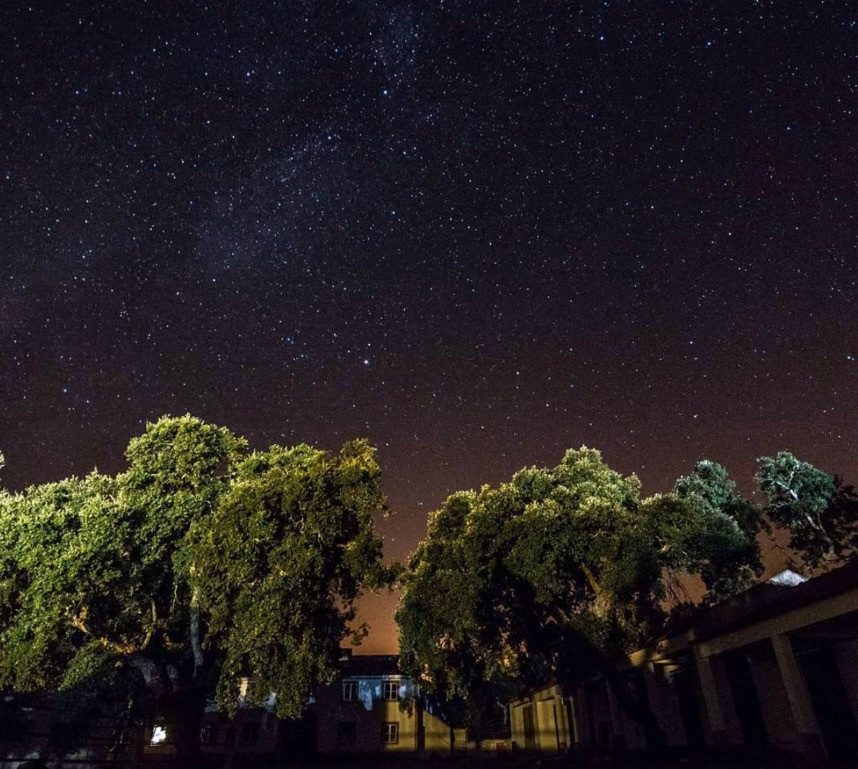 Sky full of stars in the Alentejo, Portugal