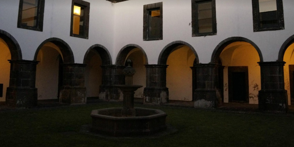 Wedding venue by night Azores