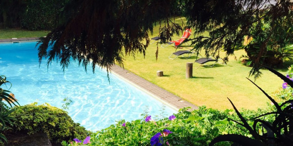 Swimming pool from Convento São Francisco