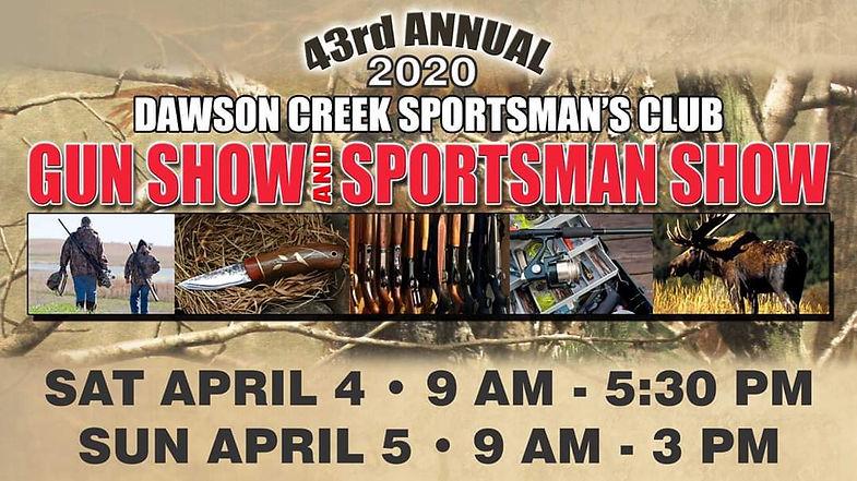 gun show poster