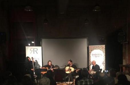 Aleppo - Brest, in Manchester: Fawaz Baker Ensemble