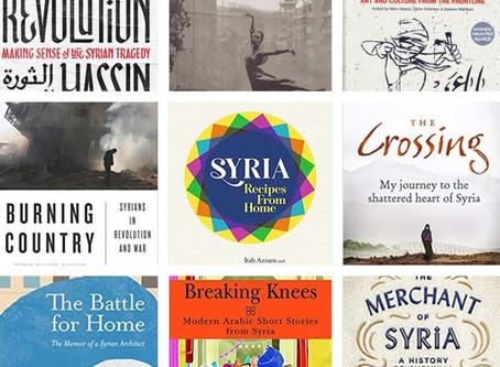 List of Books on Sale at Celebrating Syria Festival 2018