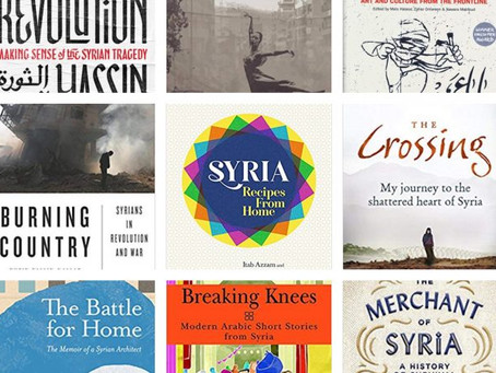 List of Books on Sale at Celebrating Syria Festival 2018