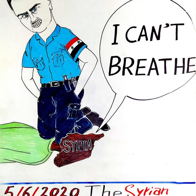 Placard from Kafranbel, Syria