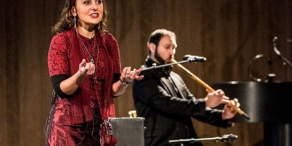 DAMASCUS STORIES  AN EVENING OF MAGICAL STORYTELLING AND MUSIC