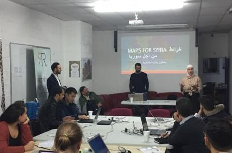 Workshop: Maps for Syria: How Can We Use Open-source Maps to Save Property Right?