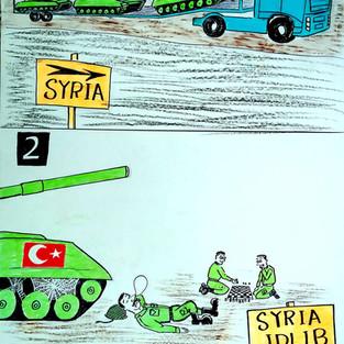 By Ahmad Jalal (Kafranbel, Syria)