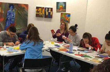 Workshop: Piece by Piece - Syrian Mosaic Art