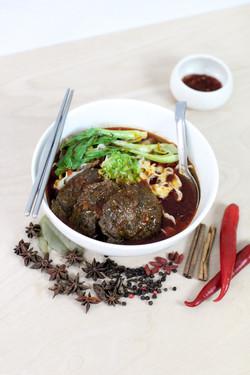 Braised Beef Noodle Soup / 紅燒牛肉麵
