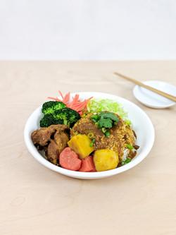 Ga Li Chicken / 咖哩雞飯