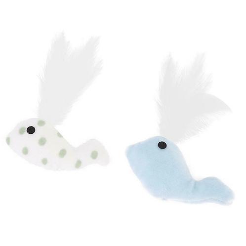 BALEINE peluche plumes