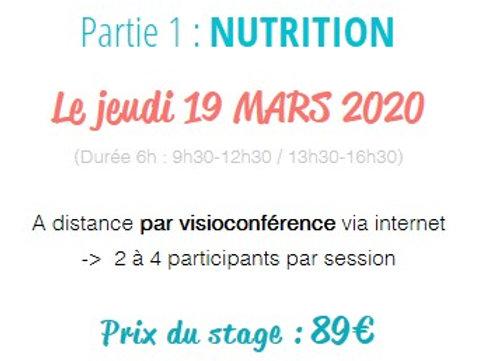 Stage NUTRITION du 19.03.2020