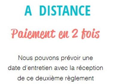 ENTRETIEN COMPORTEMENT + ALIMENTATION à distance (paiement 2/2)