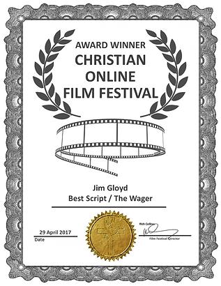 The Wager Best Script Award COLFF Mar 17