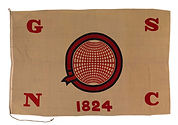 House Flag for the General Steam Navigation Co. (1824)