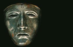 A Third century Battle Mask Belonging to Roman Calvarymen.