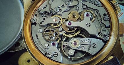 Enicar 1940's Chronograph