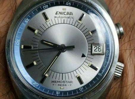 Enicar Memostar -Alarm-Automatic-Watch-298-01-01