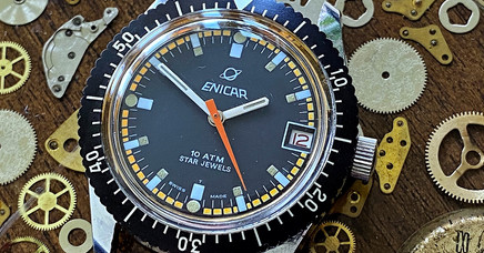 Enicar Sherpa 300 Diver