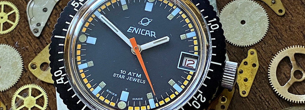 Enicar Sherpa 300 Diver