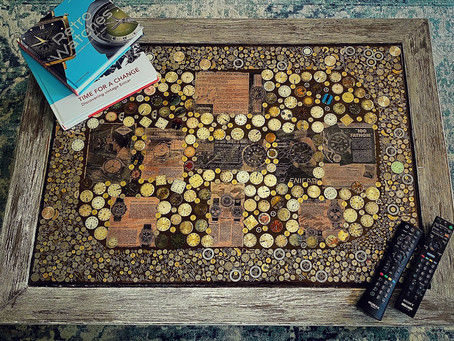 The Vintage Enicar Coffee Table... and why not!