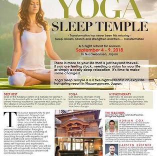 Yoga Sleep Temple 2018 flyer