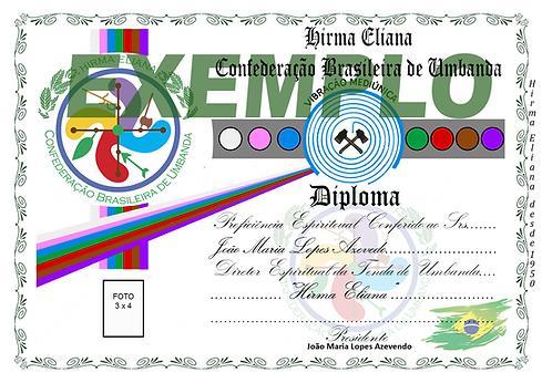 Diploma Confederação Brasileira Hirma Eliana