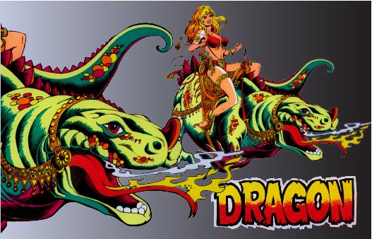 8 Dragon slide
