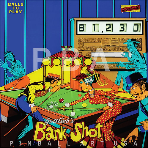Bank Shot 1976 Gottlieb