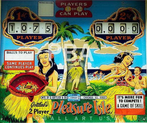 Pleasure Isle 1965 Gottlieb