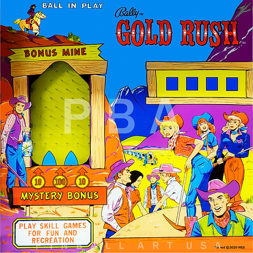 Gold Rush 1966 Bally