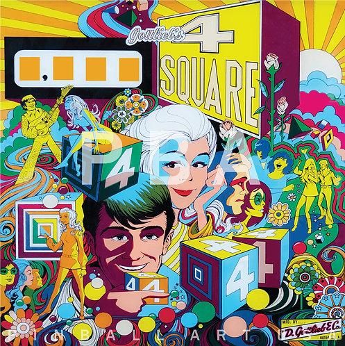 4 Square 1971 Gottlieb