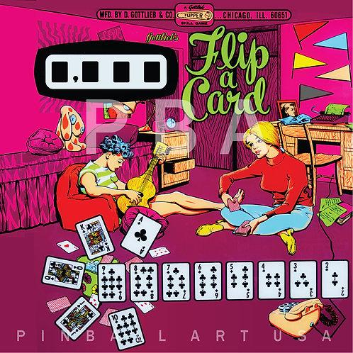 Flip a Card 1970 Gottlieb