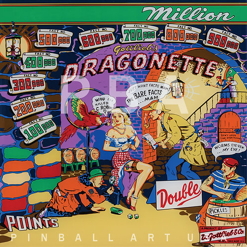 Dragonette 1954 Gottlieb
