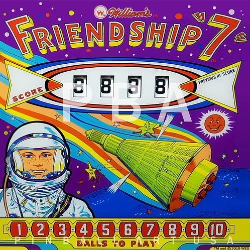 Friendship 7 1962 Williams
