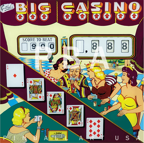 Big Casino 1961 Gottlieb