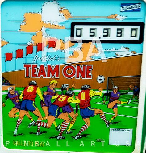 Team One 1977 Gottlieb