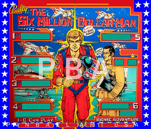 Six Million Dollar Man 1978 Bally