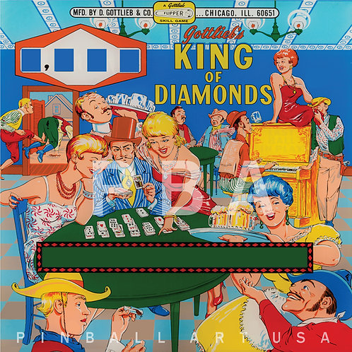 King of Diamonds 1967 Gottlieb