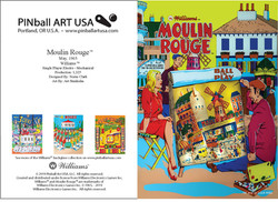Moulin Rouge greeting card