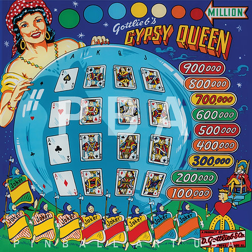 Gypsy Queen 1959 Gottlieb