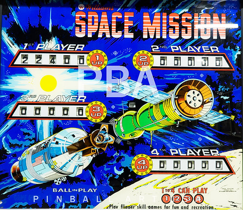Space Mission 1976 Williams