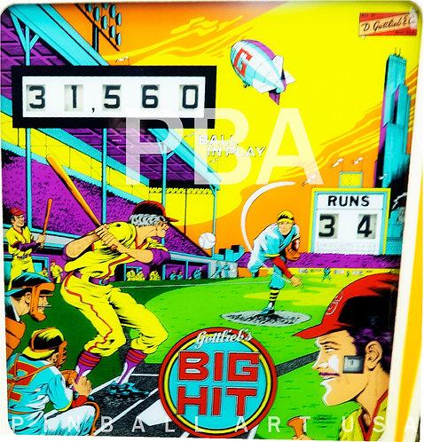 Big Hit 1977 Gottlieb