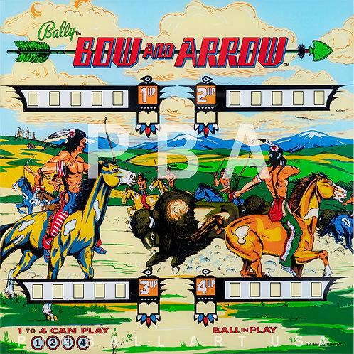 Bow and Arrow  1975 Bally