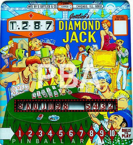 Diamond Jack 1967 Gottlieb