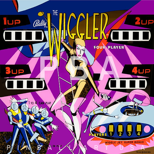 The Wiggler 1967 Bally