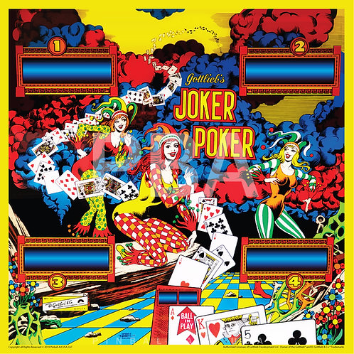 Joker Poker Jigsaw Puzzle