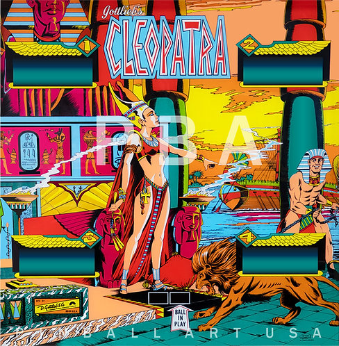 Cleopatra SS 1977 Gottlieb