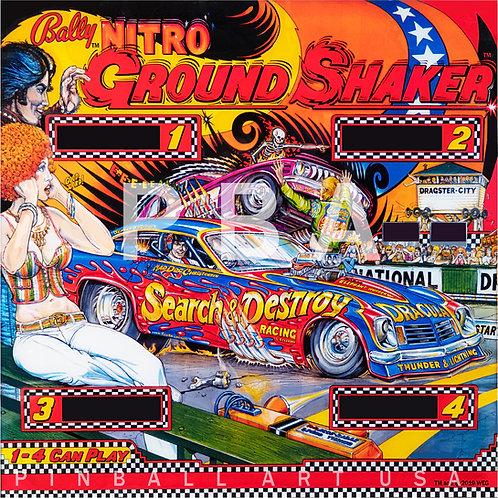 Nitro Ground Shaker 1980 Bally